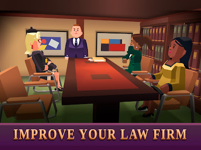 Law Empire Tycoon - Idle Game Justice Simulator - Screenshot 5