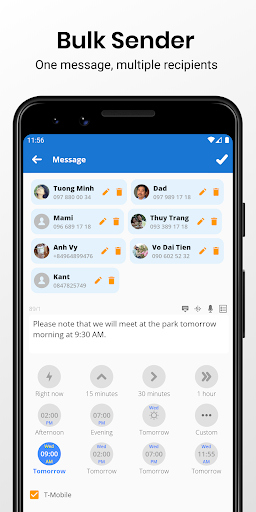 Do It Later - Schedule SMS, Auto Reply Text, Whats apktram screenshots 4