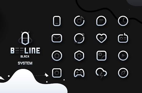 BeeLine Black IconPack Apk Download [PAID] 2