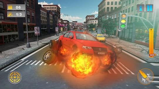 City Traffic Sniper Shooter 1