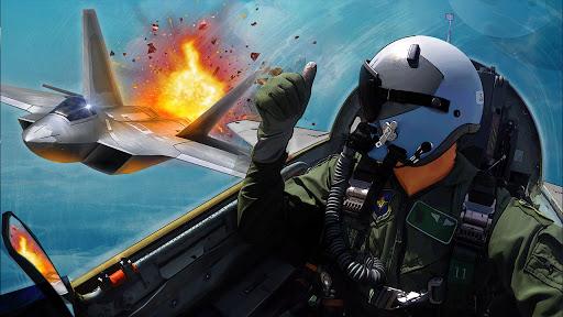 Ace Fighter: Combat aérien APK MOD – ressources Illimitées (Astuce) screenshots hack proof 1