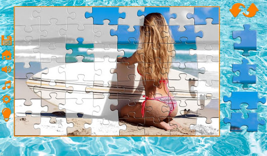 Bikini puzzles screenshots 14