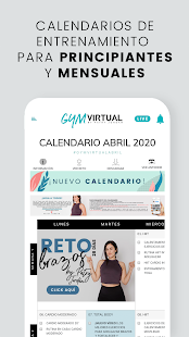 Gym Virtual: Fitness en casa Screenshot