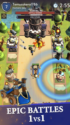 Towers Age - Tower defense PvP online  screenshots 1