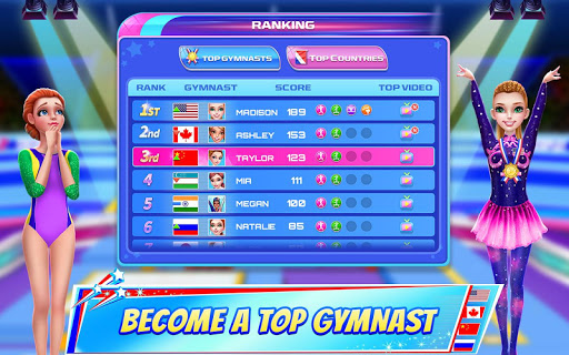 Gymnastics Superstar - Spin your way to gold! apkslow screenshots 17