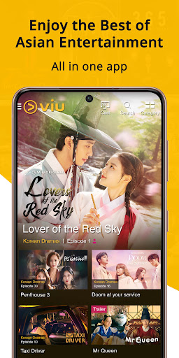 Viu: Korean Drama, Variety & Other Asian Content  screenshots 1