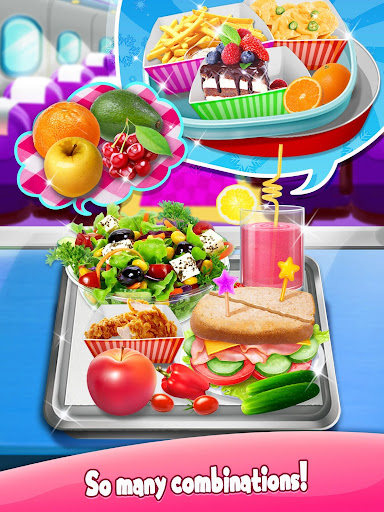 Airline  Food - The Best Airplane Flight Chef 1.5 screenshots 3