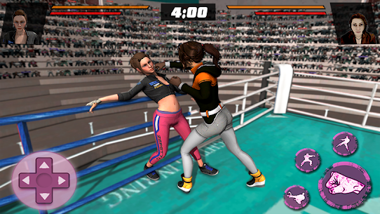 Women Wrestling Stars Action Game:Girls revolution Hack for iOS and Android 4