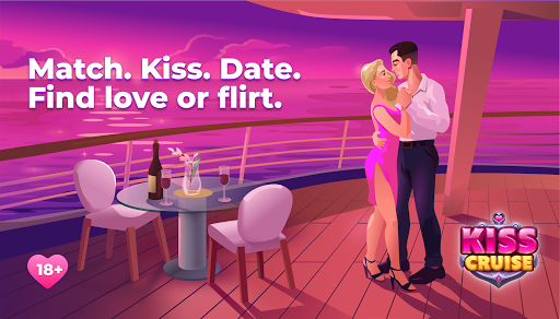 Spin the bottle and kiss, date sim - Kiss Cruise  screenshots 1