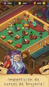 La historia de mi propia escuela de magia 3