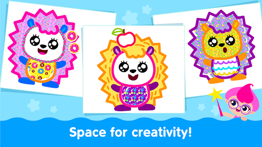 Bini Toddler Drawing Apps! Coloring Games for Kids apktram screenshots 24