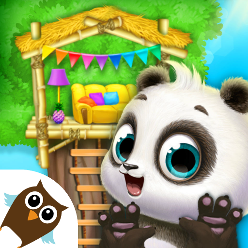 Panda Lu Treehouse - Build & Play with Tiny Pets