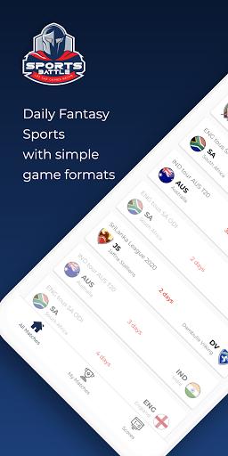Code Triche SportsBattle - Fantasy Sports Game APK MOD (Astuce) screenshots 1