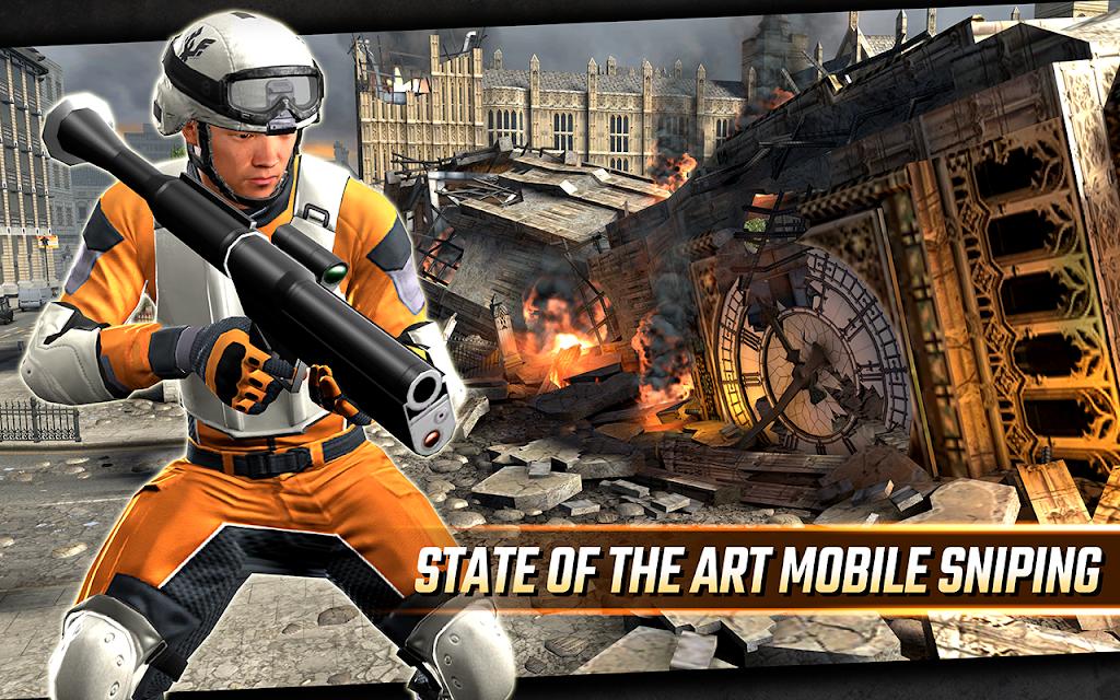 Sniper Strike APK Mod poster 3