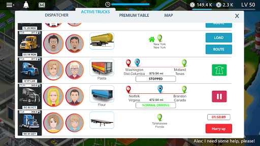 Virtual Truck Manager - Tycoon trucking company apkmr screenshots 3