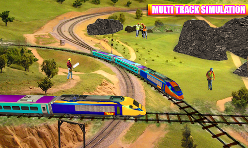 Euro Train Driving Simulation 3D: Free Train Games 1.13 screenshots 5