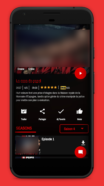 Voir Films et Séries HD _Streaming Gratuit Android App Screenshot