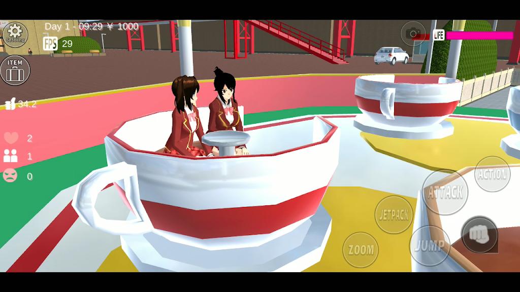 SAKURA School Simulator  poster 3