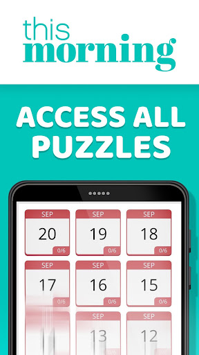 This Morning ud83cudf1e Puzzle Time ud83dudcc6 Daily Puzzles 4.3 screenshots 4