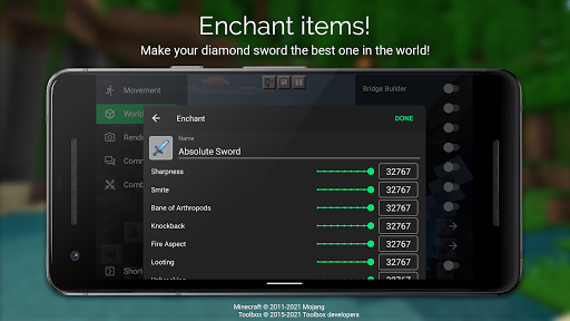 Toolbox for Minecraft: PE Apkfinish screenshots 4