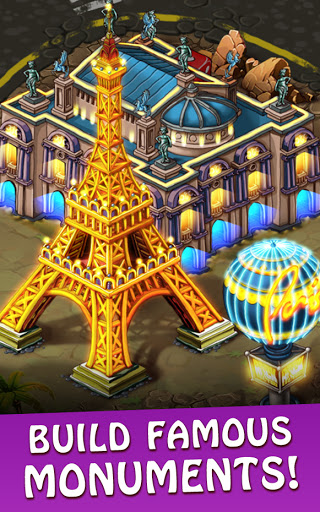 Magica Travel Agency: Match 3 Games, Jigsaw Puzzle  screenshots 1