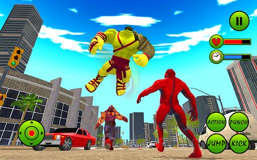 Incredible Monster Hero City Battle New Games 2021  screenshots 4
