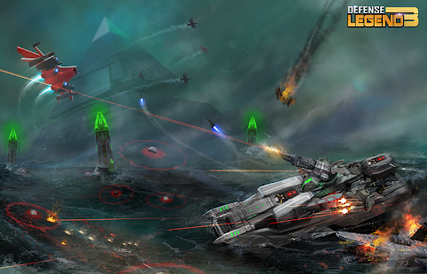 Defense Legend 3: Future War Screenshot
