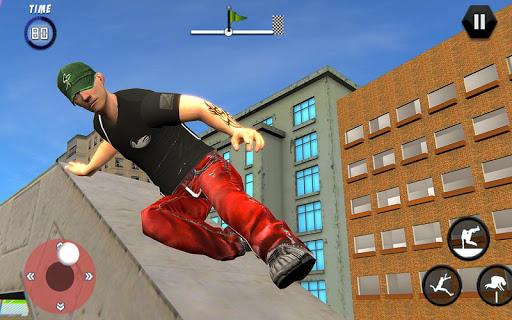 City Rooftop Parkour 2019: Free Runner 3D Game 1.3 APK screenshots 6