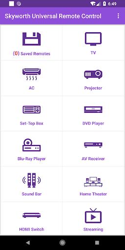 Universal Skyworth Remote Control modavailable screenshots 1