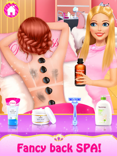 Spa Day Makeup Artist: Makeover Salon Girl Games android2mod screenshots 9
