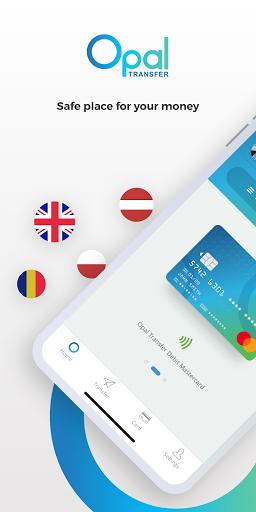 Opal Transfer: Money Transfer App  screenshots 1