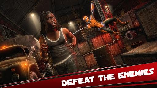 Amazing Spider Hero: Ninja Stickman Rope Hero 3D 1.0 screenshots 2