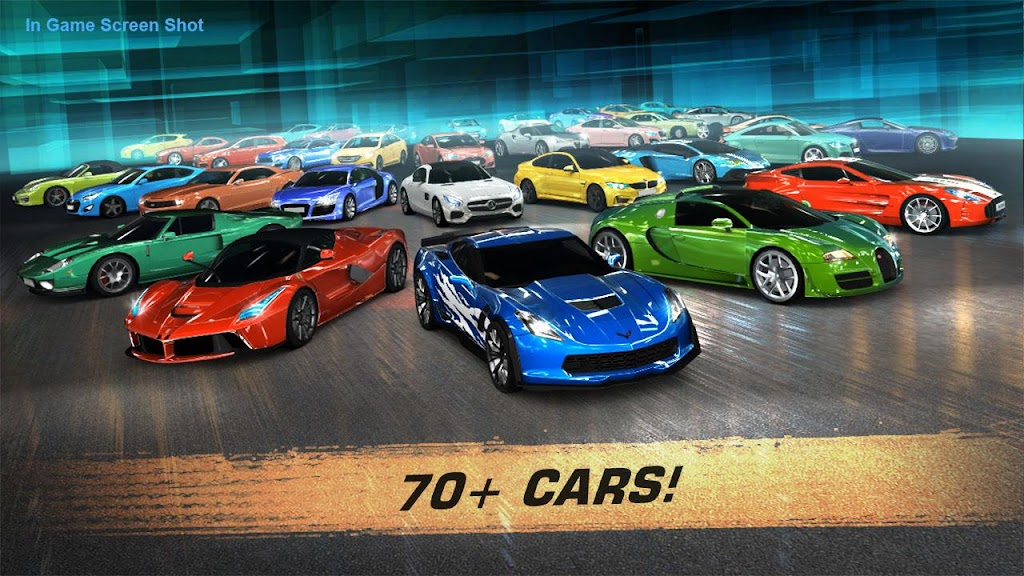 GT: Speed Club - Drag Racing / CSR Race Car Game  poster 1