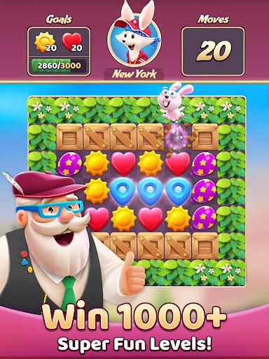 Travel Crush: New Puzzle Adventure Match 3 Game  screenshots 8