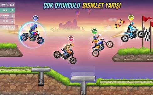 bisiklet yarışı ücretsiz oyunlar  motor oyunları Apk Son Sürüm 2021 4