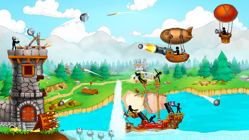 The Catapult: Castle Clash with Stickman Pirates 1.3.5 screenshots 1