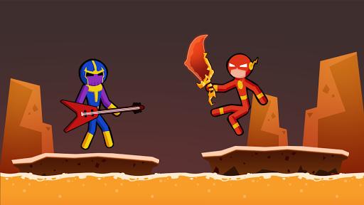 Spider Stickman Fighting 3 - Supreme Duelist Apkfinish screenshots 15