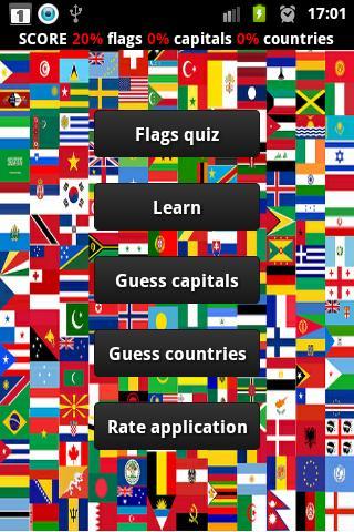 World capitals logo quiz  screenshots 1
