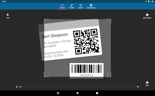 QRbot: QR & Barcode Scanner Screenshot