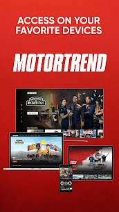 MotorTrend  Stream Roadkill, Top Gear, and more! Apk Download 5