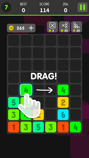 Drag And Merge Puzzle 1.0.4 de.gamequotes.net 3