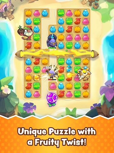 Matchfruit Monsters - Match Puzzle Adventure! screenshots 7