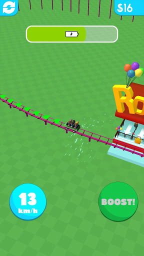 Hyper Roller Coaster apkdebit screenshots 4