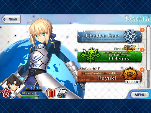 Fate/Grand Order (English) 2.6.0 screenshots 12
