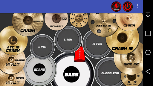 Rock Drum Kit apkmartins screenshots 1