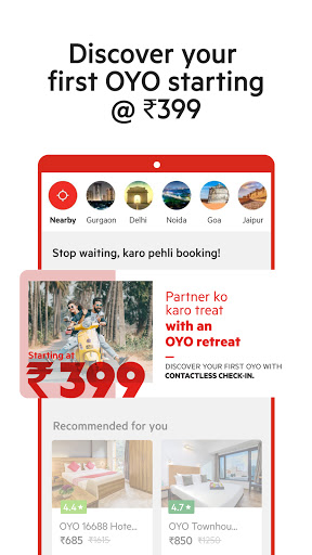 OYO: Book Hotels With The Best Hotel Booking App  screenshots 1
