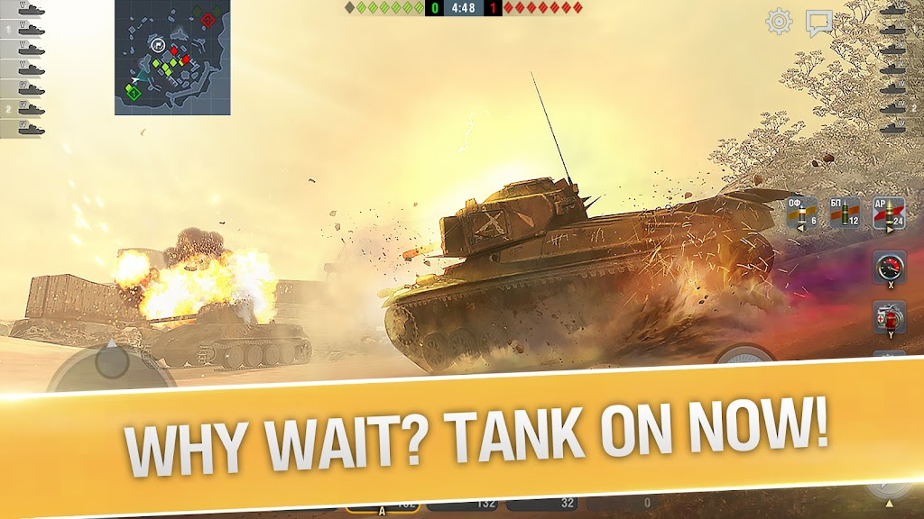 World of Tanks Blitz PVP MMO 3D tank game for free poster 5