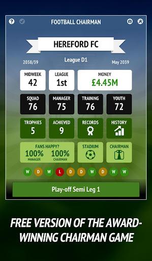 Football Chairman - Build a Soccer Empire  screenshots 1