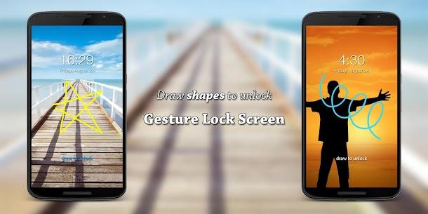 Gesture Lock Screen 10