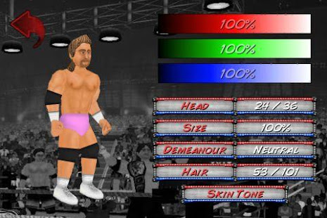 Wrestling Revolution‏ 2.040 APK + Mod (Unlimited money) إلى عن على ذكري المظهر